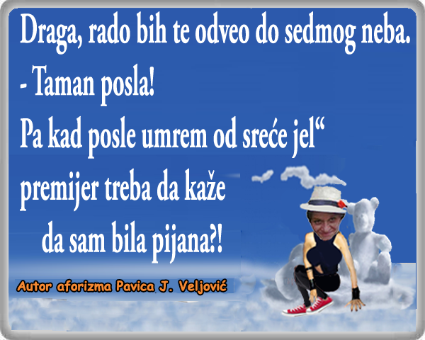 Put do sedmog neba @ crtane slike - humor u stripu