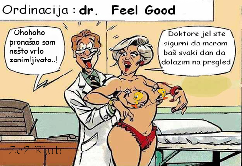 Ordinacija Dr. Feel Good - crtane slike