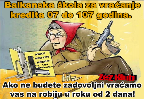 Balkanska škokla za vraćanje @ crtane slike - humor u stripu