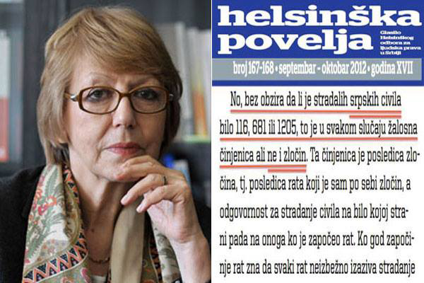 Helsinški odbor pravno dokazao: Srbi nisu ljudi