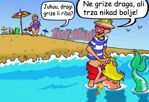 Juhuu, dragi grize li riba