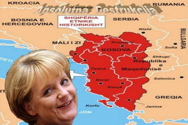 Plan za Makedoniju - Pola Albaniji, pola Bugarskoj