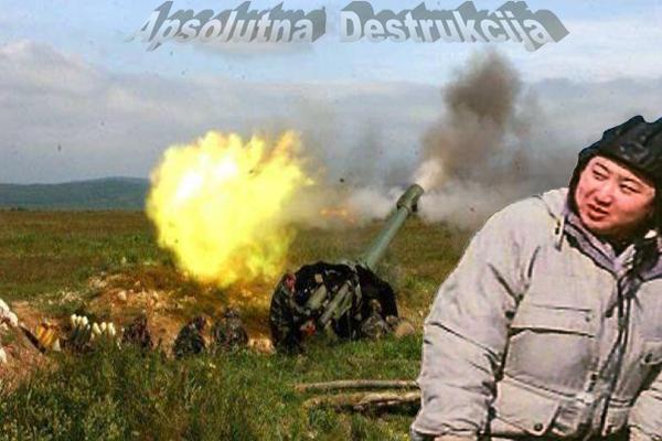 Severno Korejski Gašić streljan TOPOM