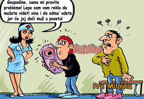 Gospodine, samo mi pravite probleme @ crtane slike - humor u stripu