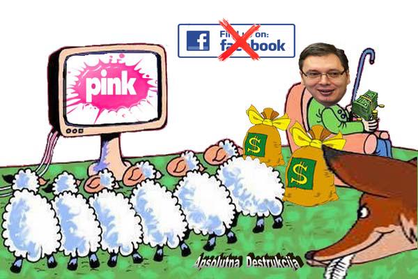 Vučić i Pink