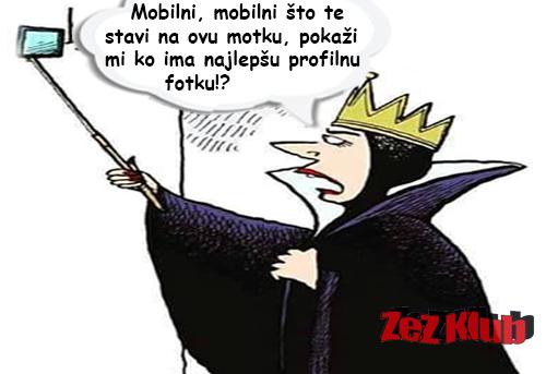 Mobilni, mobilni što te stavi na ovu motku @ crtane slike - humor u stripu