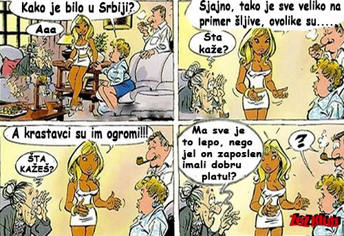Kako je bilo u Srbiji @ crtane slike - humor u stripu