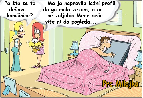 Šta se to dešava komšinice @ crtane slike - humor u stripu