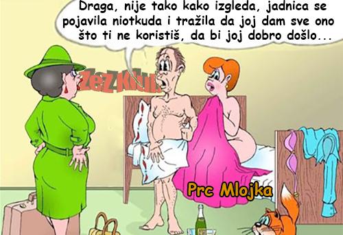 Draga, nije tako kako izgleda @ crtane slike - humor u stripu