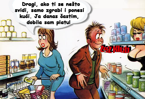 Dragi, samo zgrabi i ponesi @ crtaneslike - humor u stripu