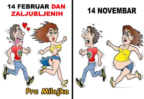 14 februar, dan zaljubljenih @ crtane slike - humor u stripu