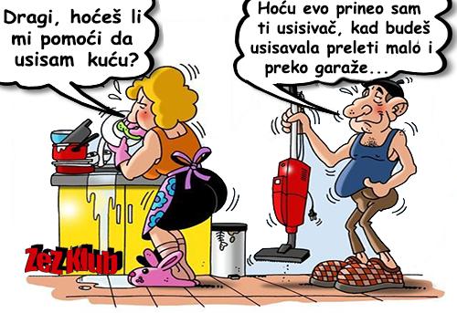 Crtane slike, humor u strip @ Dragi hoćeš li mu pomoći