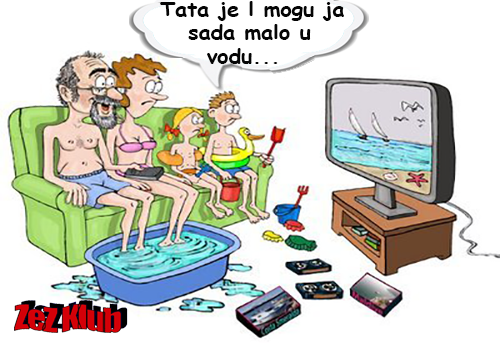 Godišnji odmor na Balkanu @ Crtane slike, humor u stripu