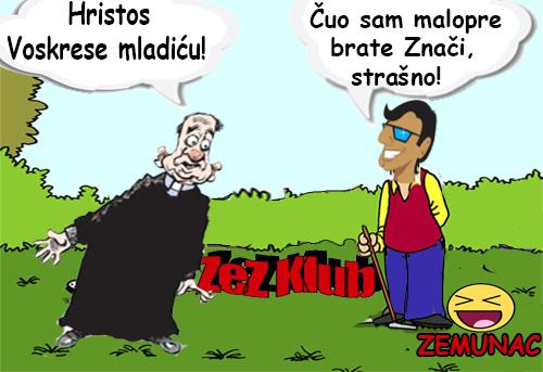 Hristos  Voskrese mladiću! @ Crtane slike, humor u stripu 1